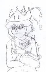 Octobette 5th: Bowsette Jr by plufim