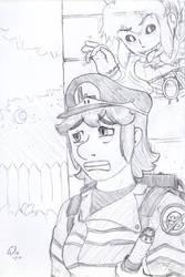 Octobette 11th: Luigi by plufim