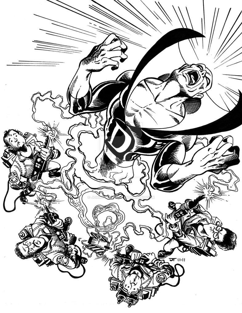 Liid Tryout Week 2 The Ghostbusters Meet Deadman By Johntrumbull On