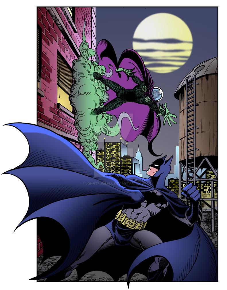LIID Tryout Week 4: Batman vs. Mysterio by johntrumbull