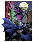 LIID Tryout Week 4: Batman vs. Mysterio
