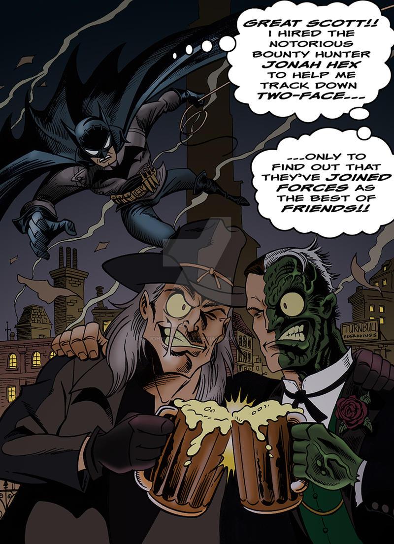 LIID Week 91: Jonah Hex and Batman! by johntrumbull