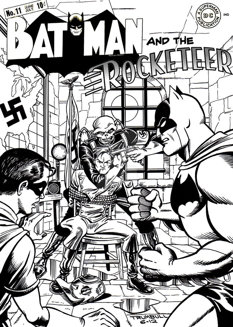 LIID Week 93: Batman and the Rocketeer! by johntrumbull