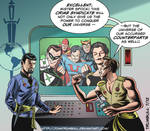 LIID 98: Star Trek/comic book Evil Universe mashup