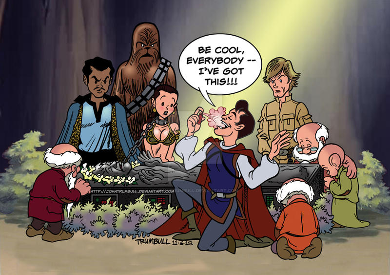 LIID 114: Prince Charming meets Han Solo! by johntrumbull