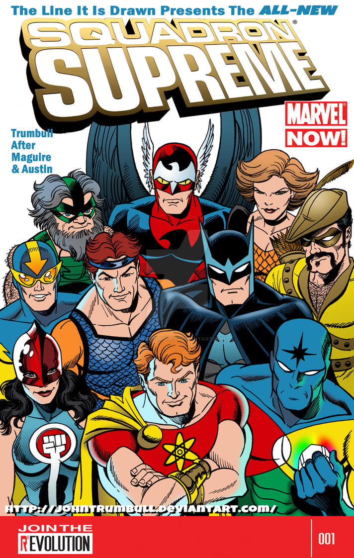 LIID 120: Squadron Supreme Marvel Now! by johntrumbull