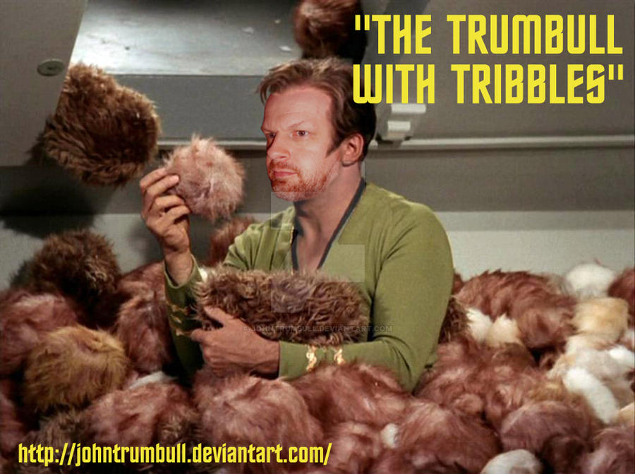 The Trumbull with Tribbles by johntrumbull