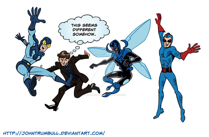 LIID 125: Blue Beatlemania! by johntrumbull