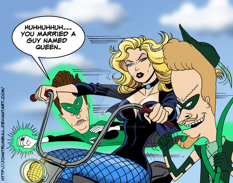 LIID 137: Beavis, Butthead and Black Canary! by johntrumbull