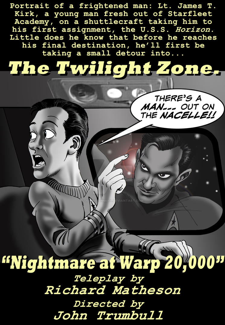LIID 147: Nightmare At Warp 20,000! by johntrumbull