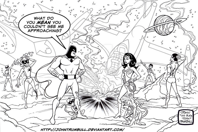 LIID 155: Space Ghost and the Super Friends! by johntrumbull