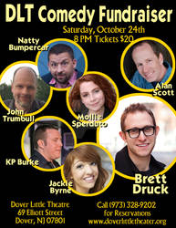 Dover Little Theatre Comedy Fundraiser - Oct. 2015