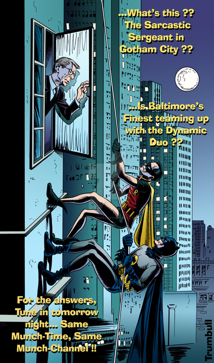 LIID 263: Batman Meets John Munch! by johntrumbull