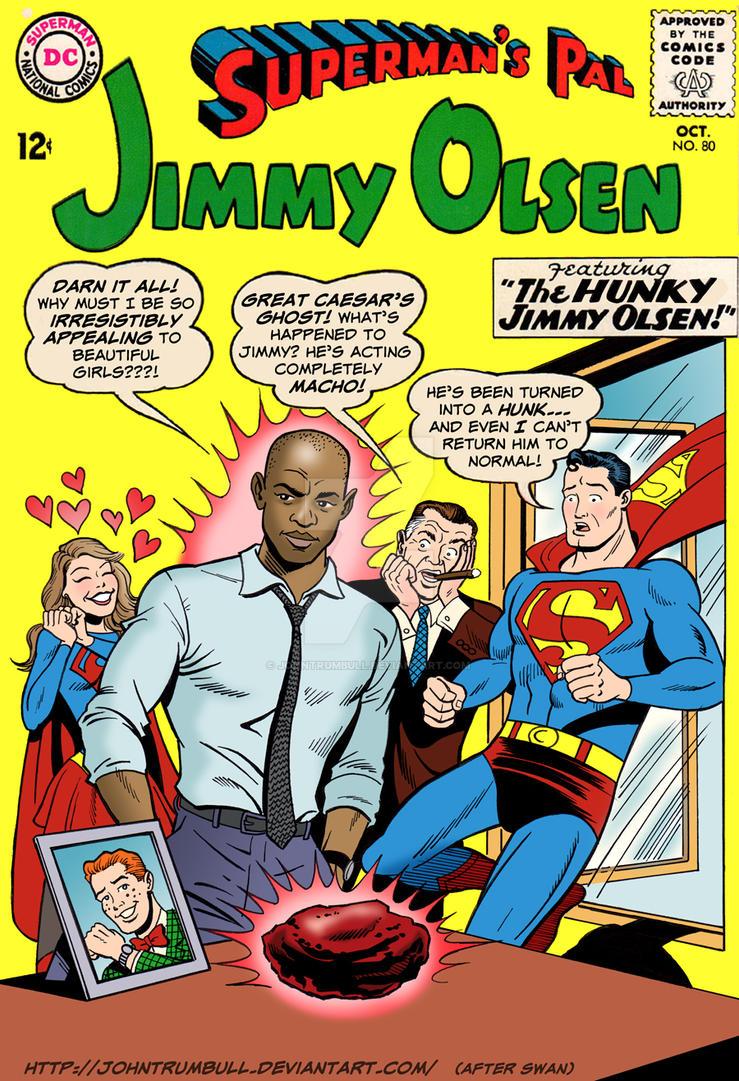 LIID 266: Hunky Jimmy Olsen! by johntrumbull
