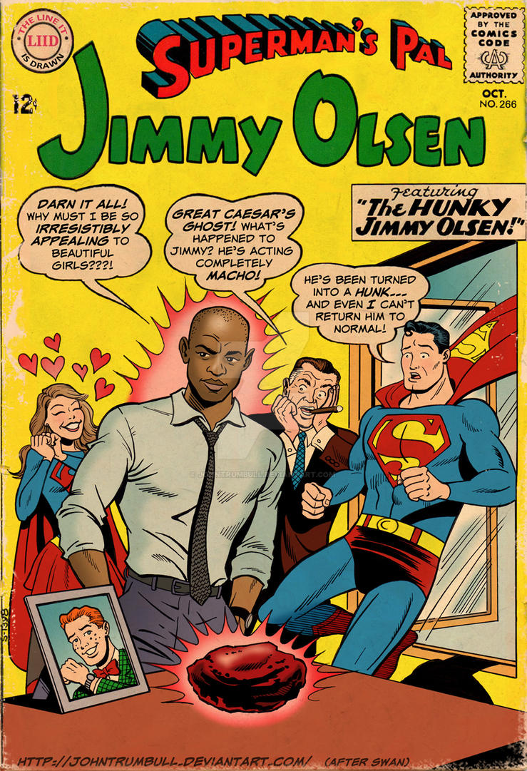 LIID 266 BONUS: Hunky Jimmy Olsen - Aged Version! by johntrumbull