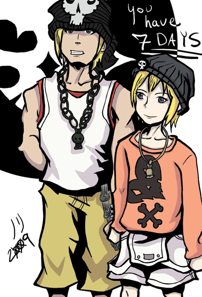 TWEWY :: 7 days by rhythmic-high