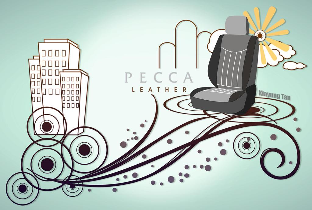 Pecca Leather Sliding Door Wallpaper by kiayt