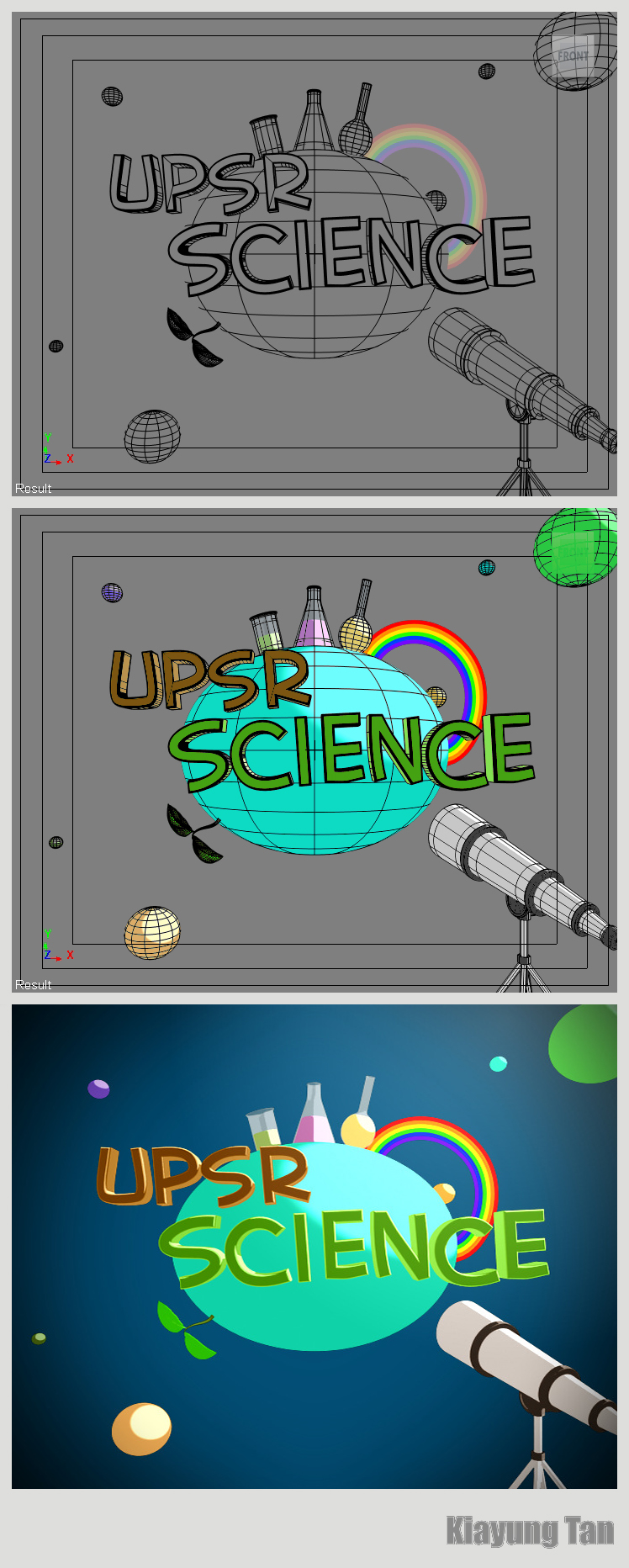UPSR Science Wireframe by kiayt