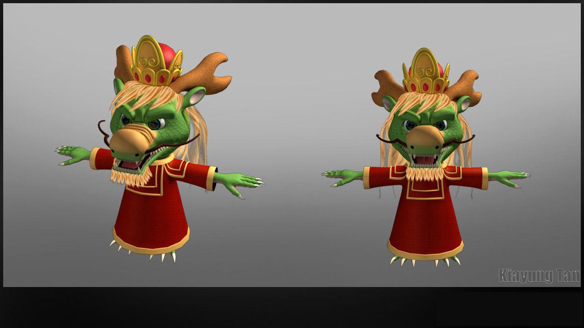 Dragon King by kiayt