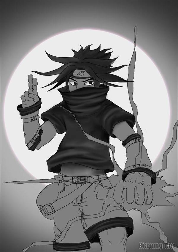 sasuke-kun WIP by kiayt