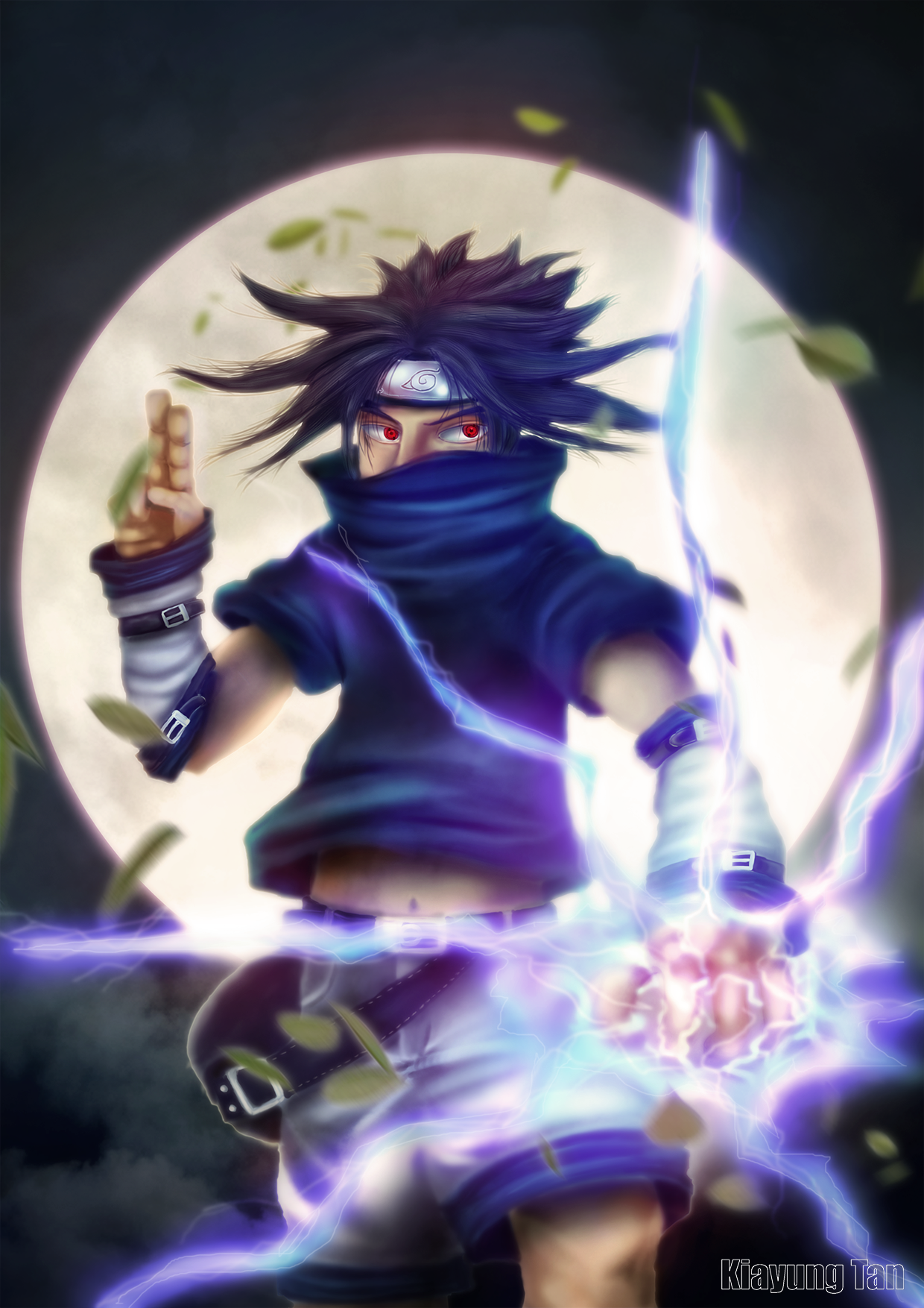 Sasuke-kun by kiayt