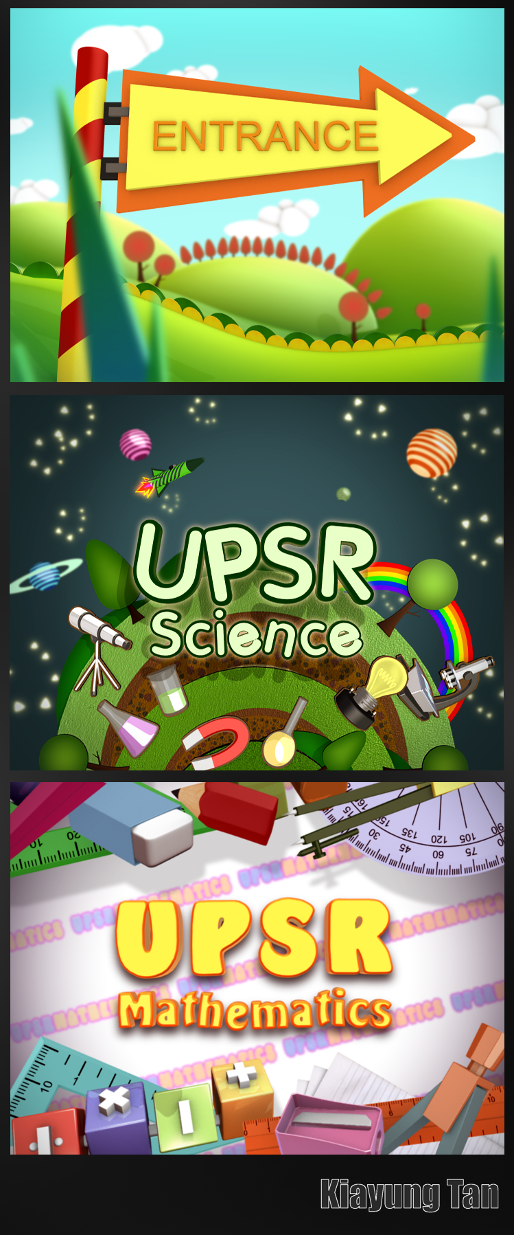 UPSR Opening Titles by kiayt