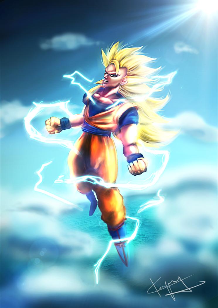 Goku_SuperSaiyan3 by kiayt