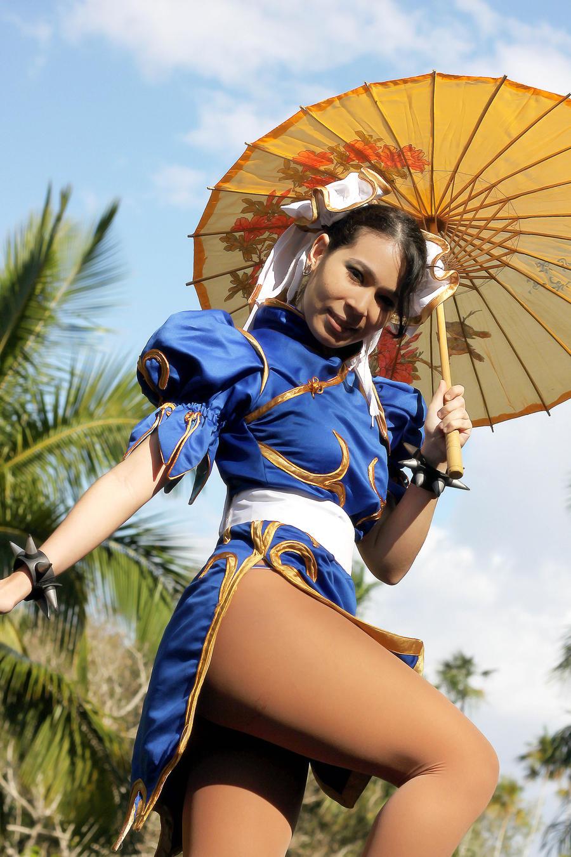 Chun li cosplay by carolinaangulo