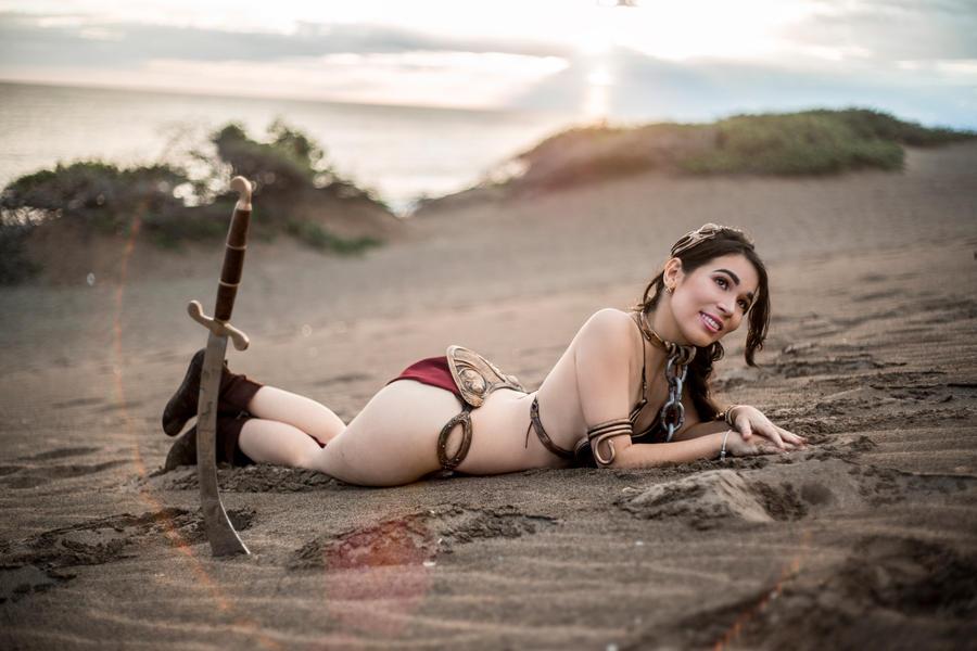 Slave leia christy marie boobs — pic 13