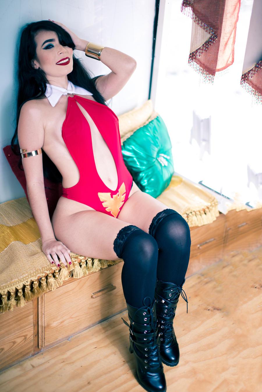 Vampirella Cosplay by caroangulito on DeviantArt