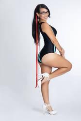 Bayonetta Swimsuit by caroangulito