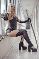 A2 Cosplay by caroangulito