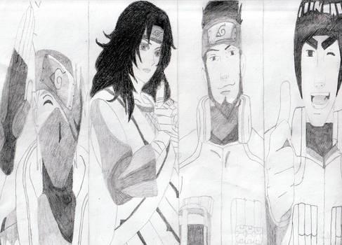 Naruto Team Sensei's