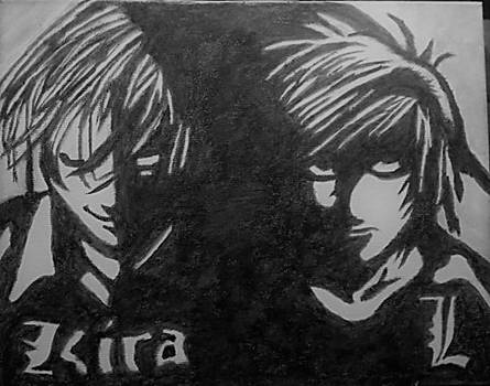 Death Note painting