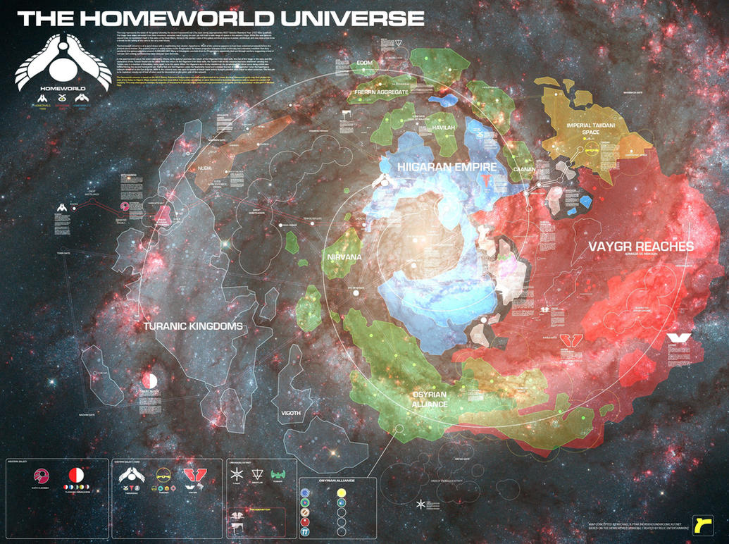 Homeworld Galaxy by SupermanLovesAspen
