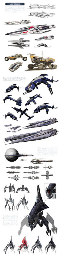Mass Effect universe - ships and vehicles