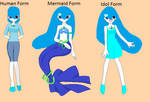 Mermaid Melody Forms