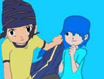 Koji and Crystal