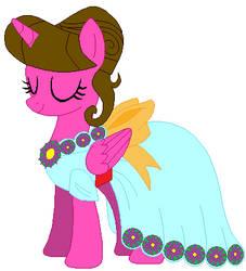Color Heart's Gala Dress by GenerosityHeart