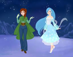Hannah and Crystal