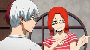 BNHA, Hotaru and Shoto, Over There