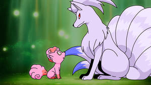Pokemon, Mother and Daughter