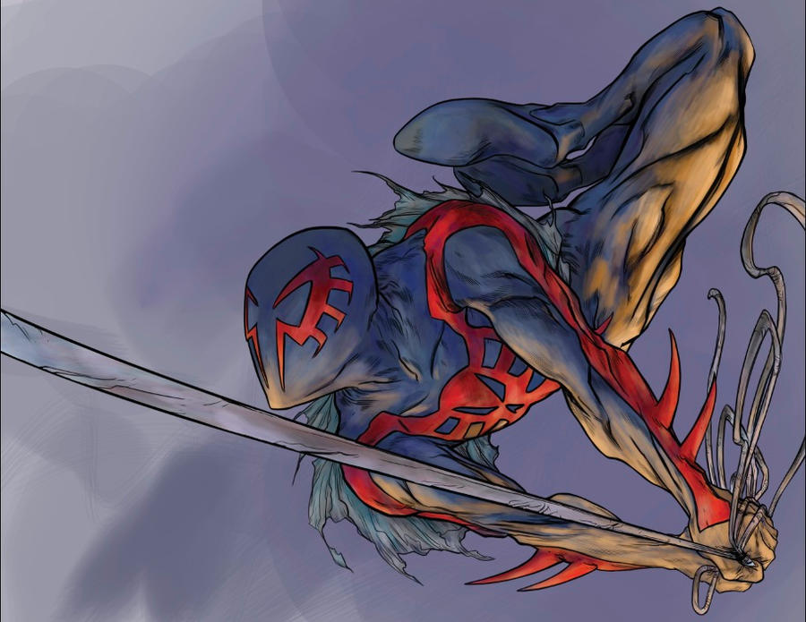 Spider-man 2099 By RobPaolucci On DeviantArt