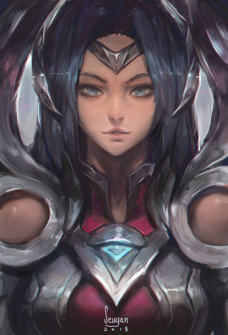 Irelia by Seuyan on DeviantArt