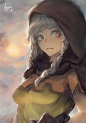 Elf from Dragon's Crown by Seuyan
