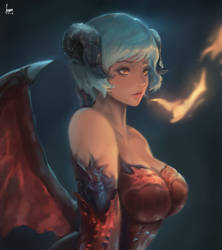 Demon girl desgin by Seuyan