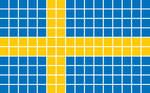 Sveriges flagga // Swedish Flag