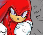 No one Stops Knuckles's Feet