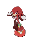 Sonic Heroes Collab [Team Riders] - Knuckles