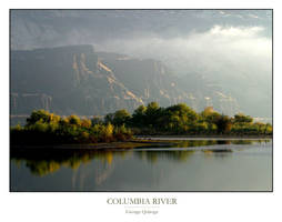 Columbia River Print by QNetX